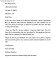 Business Formal Letter Example