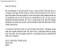 Business Letter Template Example