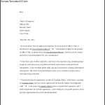 Business Professional Cover Letter Word Template Free Download