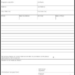 Business Proposal Form Template