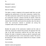 Business Reference Letter Example Template