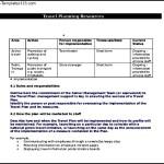 Business Travel Plan Free Document