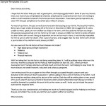 Campaign Fundraising Letter Template Free PDF Printable