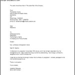 Cancellation Resignation Withdrawal Letter Example Word Download