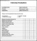 Candidate Interview Evaluation Template