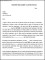 Career to Limited Position Transfer Letter Template