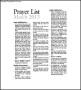 Catholic Prayer List Template Free