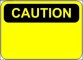 Caution Sign Template