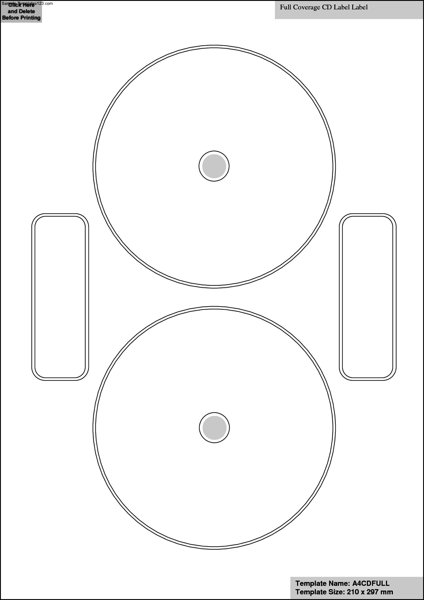 cd label templates for word - sample templates