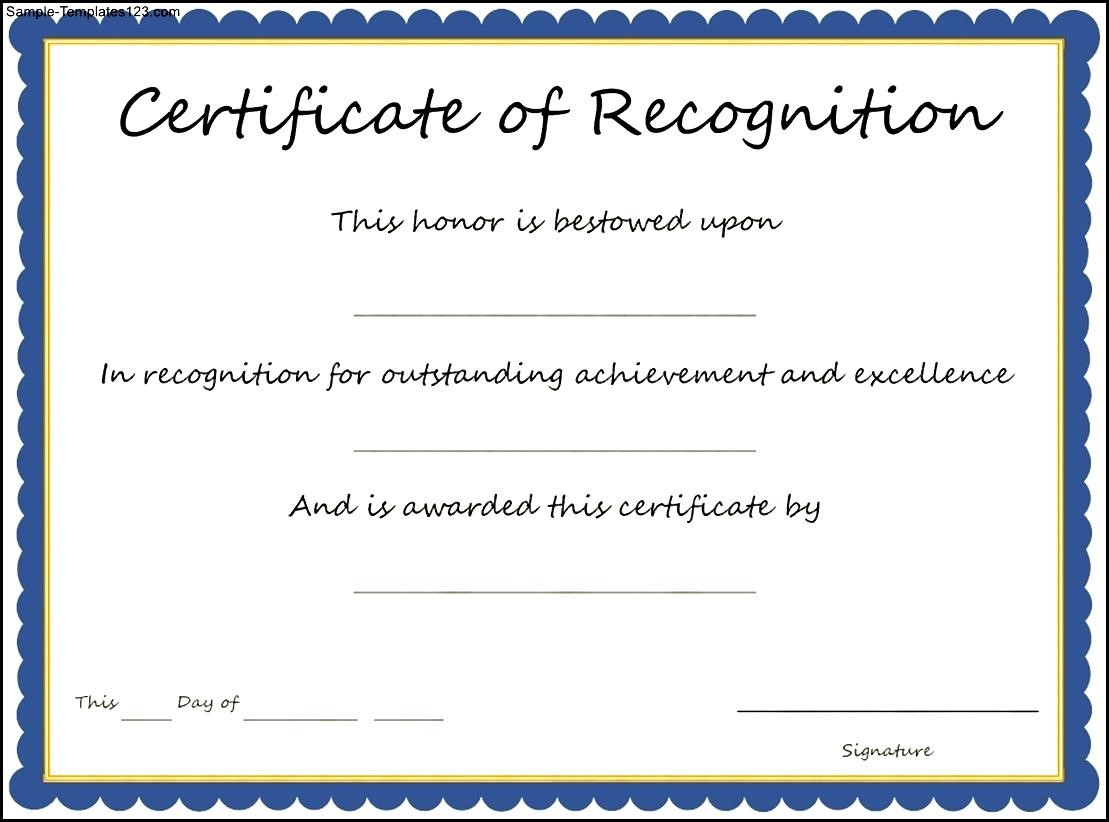 Certificate of Recognition Template Top Result 49 Inspirational Certificate Of Recognition Sample Pic 2018 Sjd8