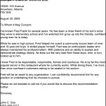Character Reference Letter Template PDF