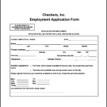 Checkers Employee Application Form