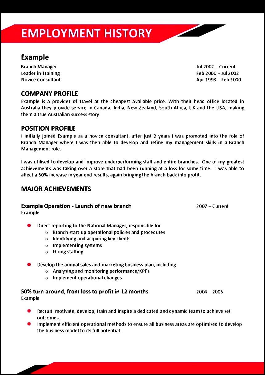 Chef Resume Sample Australia - Sample Templates - Sample ...
