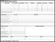 Child Care Instruction Form Template