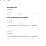 Child Emergency Contact Form