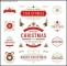 Christmas Badge Label Template