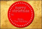 Christmas Gift Label Template