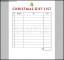 Christmas Gift List Digital PDF