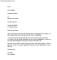 Church Leadership Resignation Letter