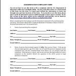 Civil Complaint Form PDF