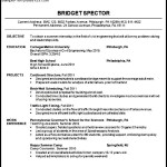 Civil Engineer Resume Template Word
