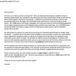 Closing Business Letter to Customers