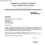 College Letter of Intent PDF