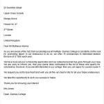 College Scholarship Rejection Letter