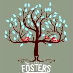 Colourful Family Tree Art
