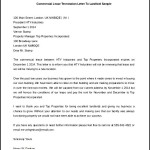 Commercial Lease Termination Printable Letter To Landlord Sample