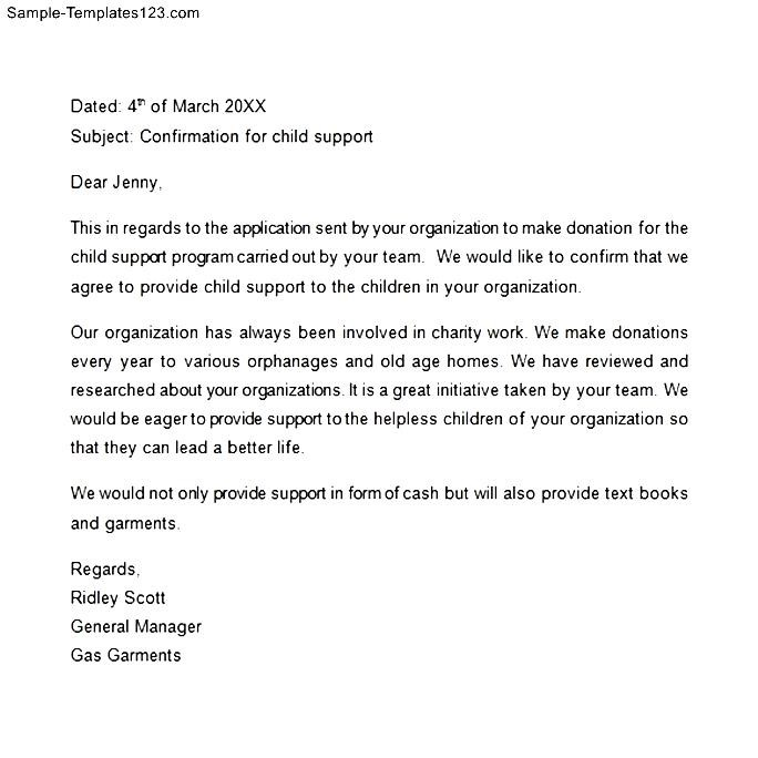 Confirmation letter to child mersnoforum confirmation letter to child thecheapjerseys Image collections