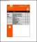 Construction Snag List Template
