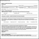 Consumer Report Fraud Form