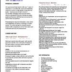 Curriculum Vitae Teacher Format