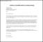 Customer Service Email Cover Letter PDF Template Free Download
