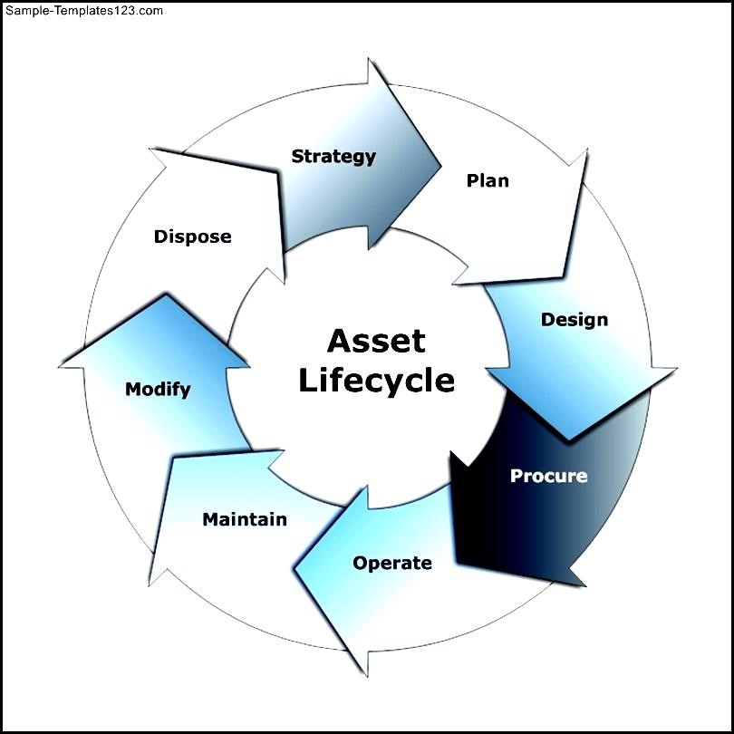 Cycle Diagram Example Asset Lifecycle Template Sample