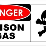 Danger – Poison Gas Sign Template