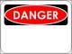 Danger Sign Template