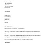 Debt Collection 7 Day Legal Letter Template Download