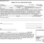 Deed Of Trust Form In PDF