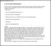 Dental Medical Intent Letter PDF Free Printable
