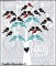 Digital Family Tree Art with Bird Names