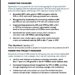 Digital Media Email Marketing Manager Resume Sample PDF