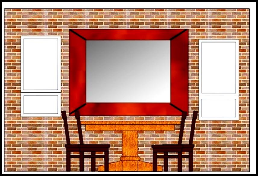 Dining room elevation template sample templates for Dining room elevation