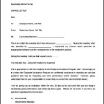 Disciplinary Letter of Counseling Memo Sample