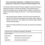 Discretionary Compensation H E Exemption Template