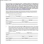 Discrimination Complaint Form