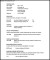 Doctor Resume Template PDF