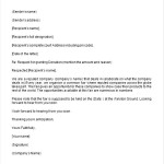 Donation Request Letter Template Format