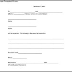 Download Blank Daycare Termination Letter to Parents